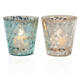 Z Gallerie glass votives