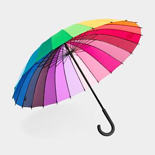 Colorwheel Umbrella