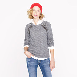 J. Crew sequin sweatshirt