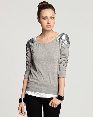Threads For Thought Sequin sweatshirt
