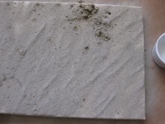 Sand on Box Lid