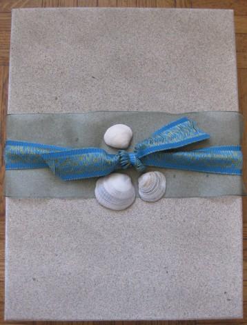 Beach Theme Gift Wrap