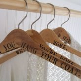 Driven by Decor personalized hangers