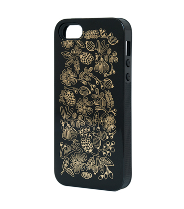 Golden Bouget iphone case
