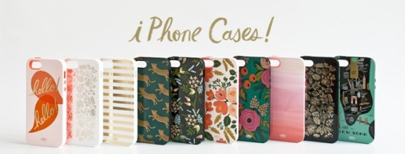 Rifle Paper Co iphone cases