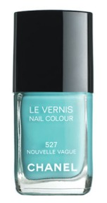 Chanel Blue Polish