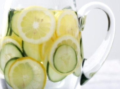 Cucumber & Lemon Water