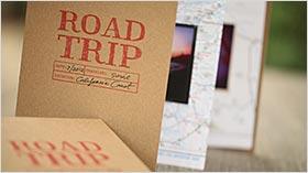 Road Trip Travel Book