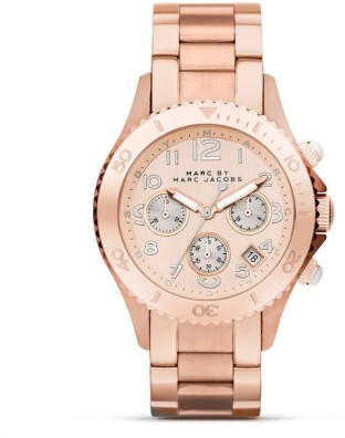 Marc Jacobs rosegold watch