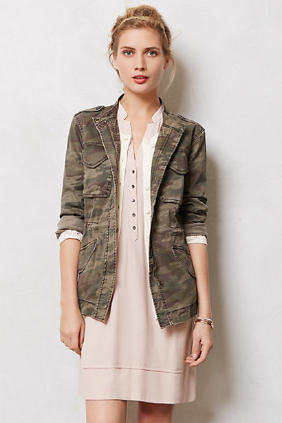 Riley Camo Jacket