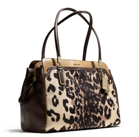 Madison Carryall Ocelot Print