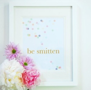 Be Smitten Wall Art