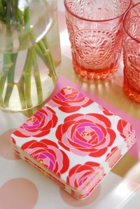 Bold Floral Coasters