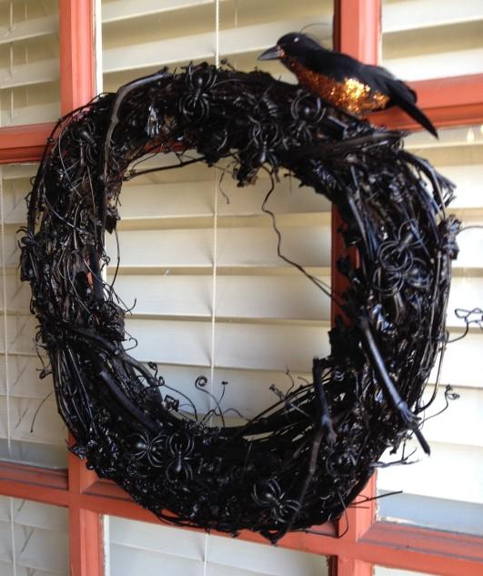 Halloween Wreath 001