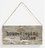 Housekeeping Please