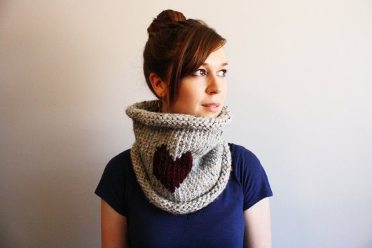 Yarn Plus Yarn Cowl Neck, can be ordered in custom colors!