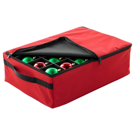 2 Tray Ornament Storage Case