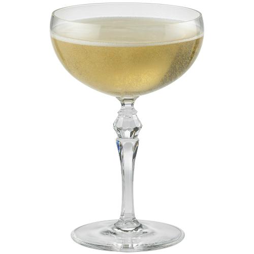Art Deco Coupe Glass
