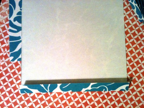 Start with a square and fold acordian style