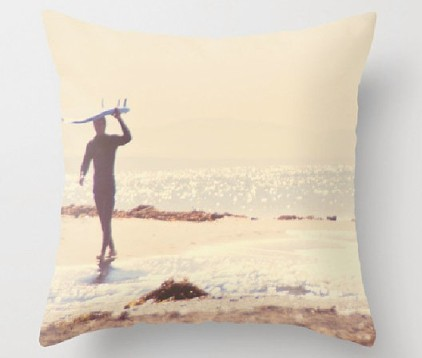surfer pillow