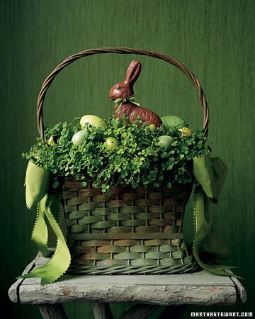 Martha Stewart Easter Basket inspo