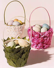 Martha Stewart Easter Baskets