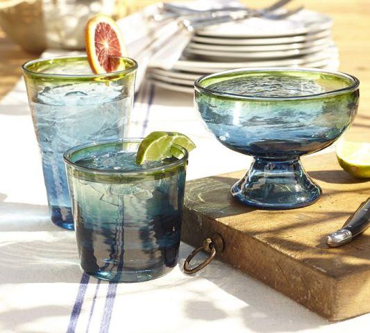 Pottery Barn glassware