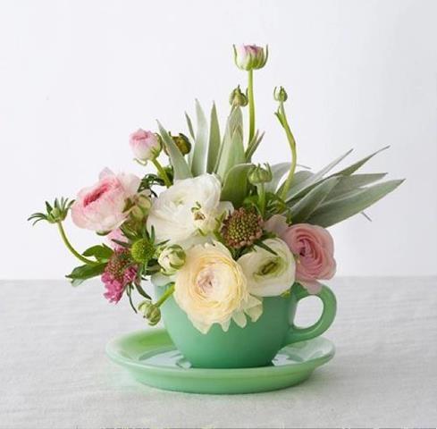 tea floral