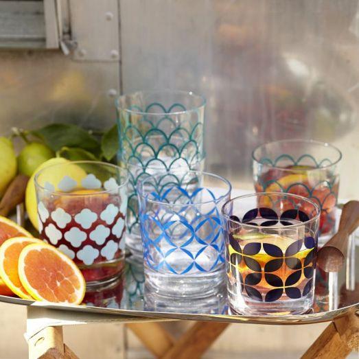 West Elm glassware