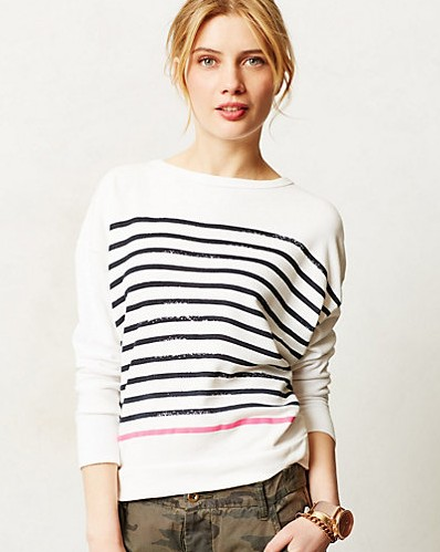 Anthropologie Strope Pullover