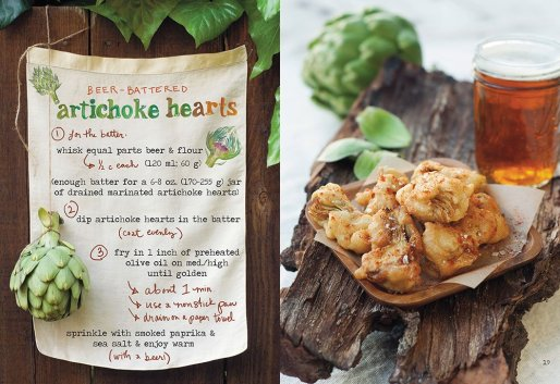 beer battered artichoke hearts