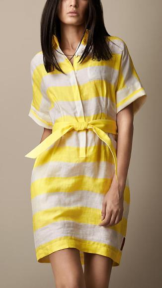 Burberry Shirt Dress