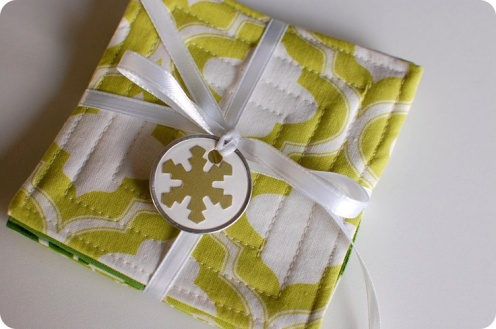 craftsbyjen fabric coasters