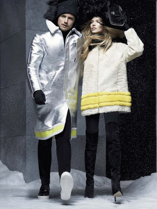 Moncler Fall 14 as seen in Bazaar