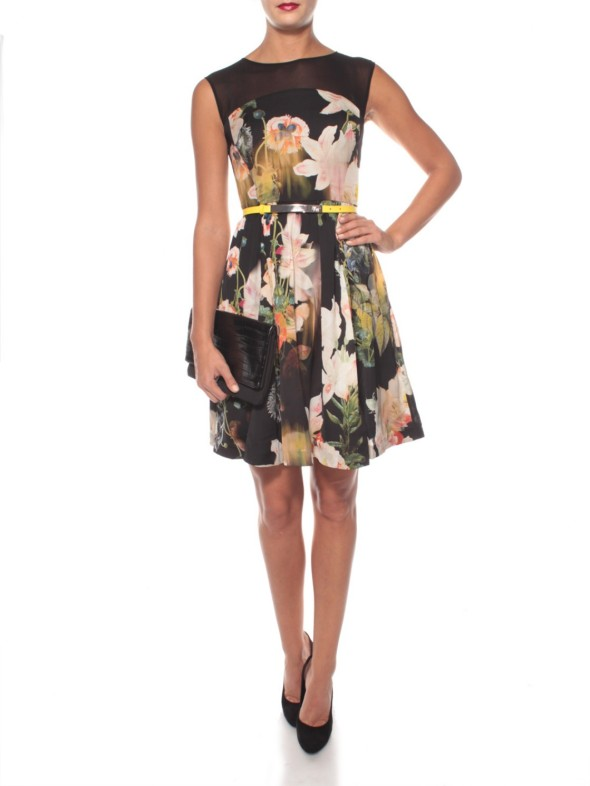 ted baker cameela dress