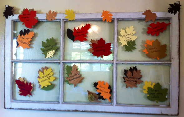 Brunch Leaf Window