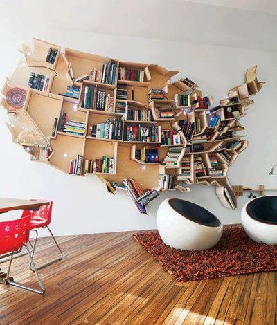 USA Bookcase