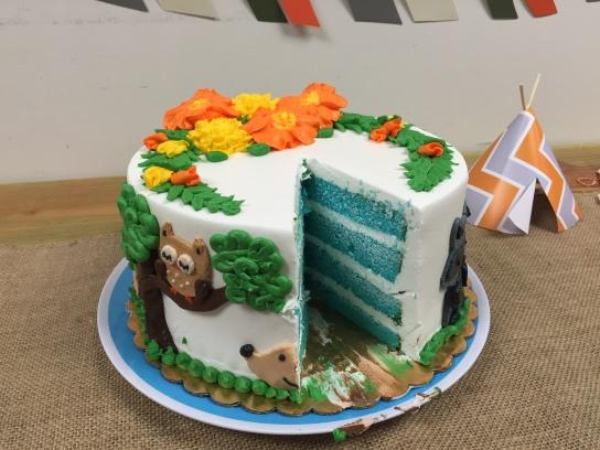 blue velvet cake